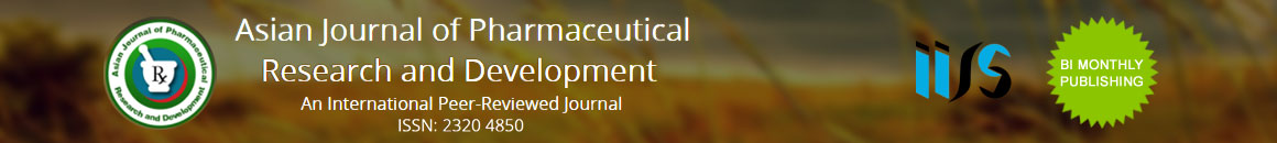Asian Journal of Pharmaceutical Research and Development